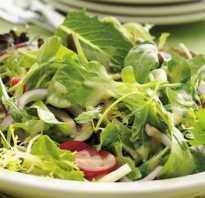 Самые полезные салаты