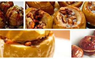Чем полезны печеные яблоки в духовке
