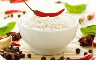 Полезен ли рис при похудении
