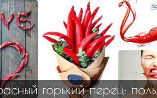 Красный перец полезные свойства