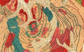 Карта полезных ископаемых мира