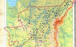 Полезные ископаемые в республике коми
