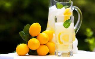 Полезно ли натощак пить воду с лимоном