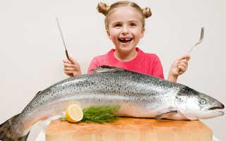 Самая полезная рыба для детей