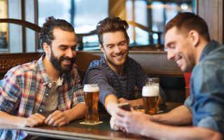 Полезные свойства пива для мужчин