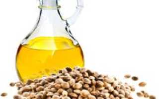 Конопляное масло для чего полезно