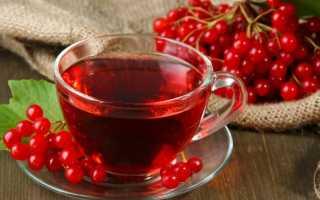 Чай с калиной полезные свойства