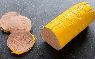 Чем полезна колбаса ливерная