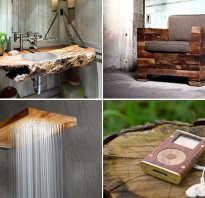 Полезные изделия из дерева