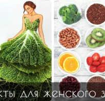 Полезные продукты для женского здоровья