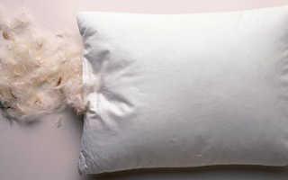 Перьевые подушки польза и вред