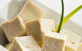 Тофу польза