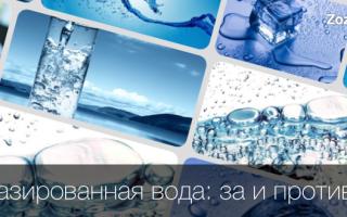 Чем полезна минеральная вода с газом