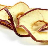Сухие яблоки польза и вред