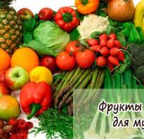 Полезные фрукты для мужчин
