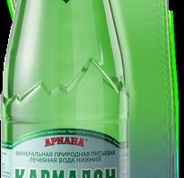 Минеральная вода кармадон полезные свойства и противопоказания