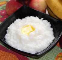 Полезна ли рисовая каша