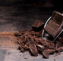 Полезен ли темный шоколад