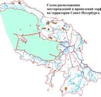 Санкт петербург полезные ископаемые