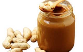 Полезна ли арахисовая паста