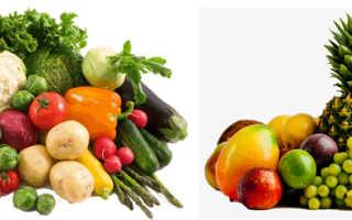 Овощи или фрукты что полезнее