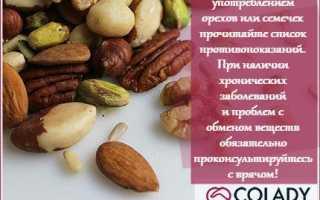 Полезные орехи для женщин