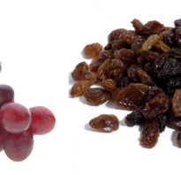 Что полезнее изюм или виноград