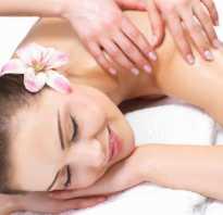 Польза массажа для организма женщины