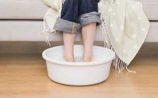 Парить ноги чем полезно