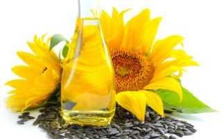 Полезные свойства подсолнечного масла