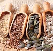 Семена полезные для здоровья