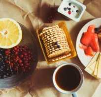 Полезные завтраки на каждый день правильное