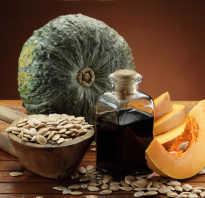 Чем полезно масло тыквы