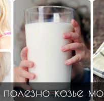 Козье молоко чем полезно для детей