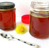 Мед одуванчиковый полезные свойства и противопоказания