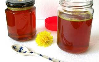 Одуванчиковый мед полезные свойства и противопоказания