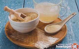 Употребление желатина внутрь польза и вред