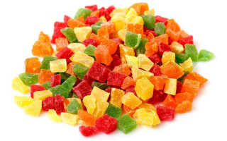 Чем полезны цукаты из разных фруктов