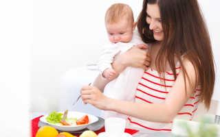 Что полезно кушать кормящей маме