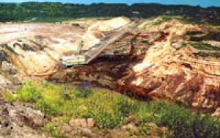 Полезные ископаемые калининградской области